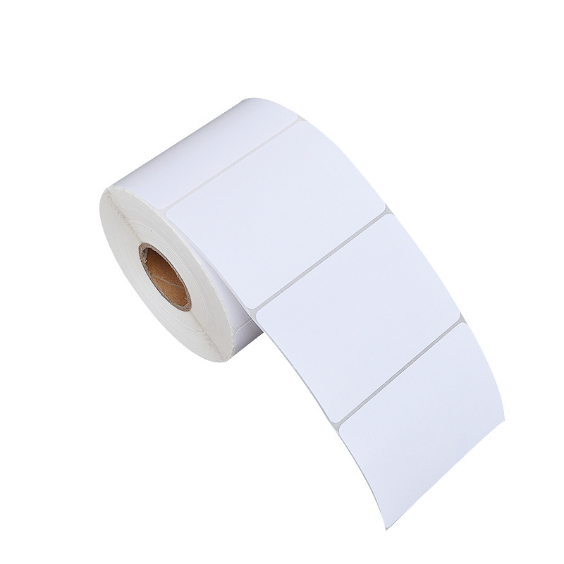 White Blank Label Sticker Roll for Labelling Your Products