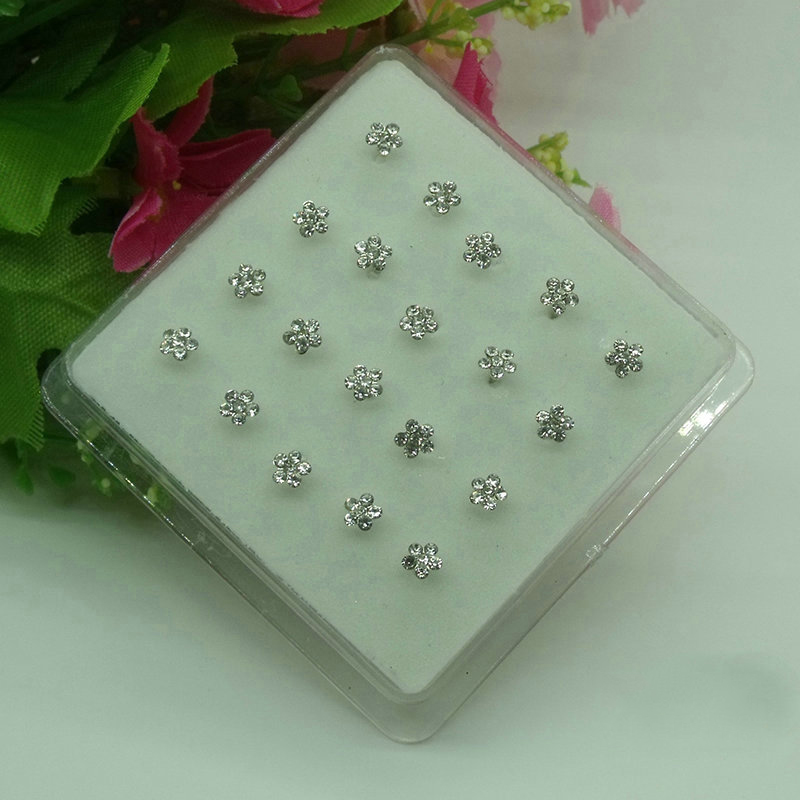 Mini Flower Nose Stud (20 Pieces/Set)