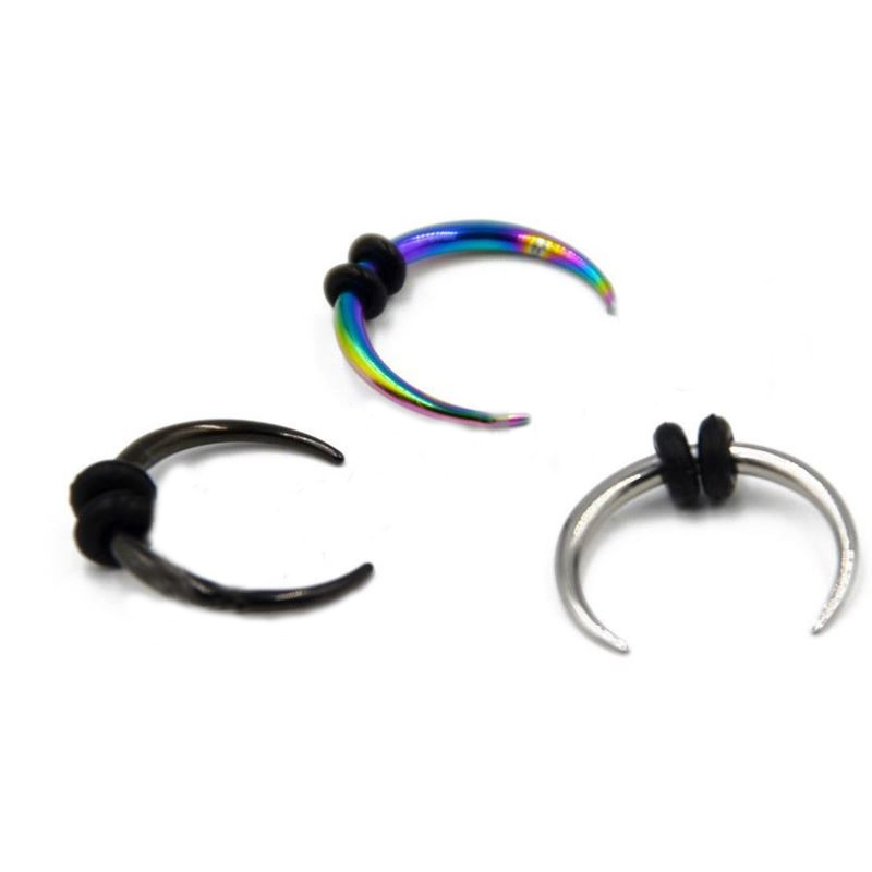 Classic Stainless Steel Septum Nose Ring