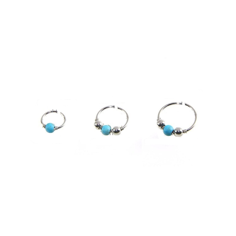 Round Beads Classic Nose Ring