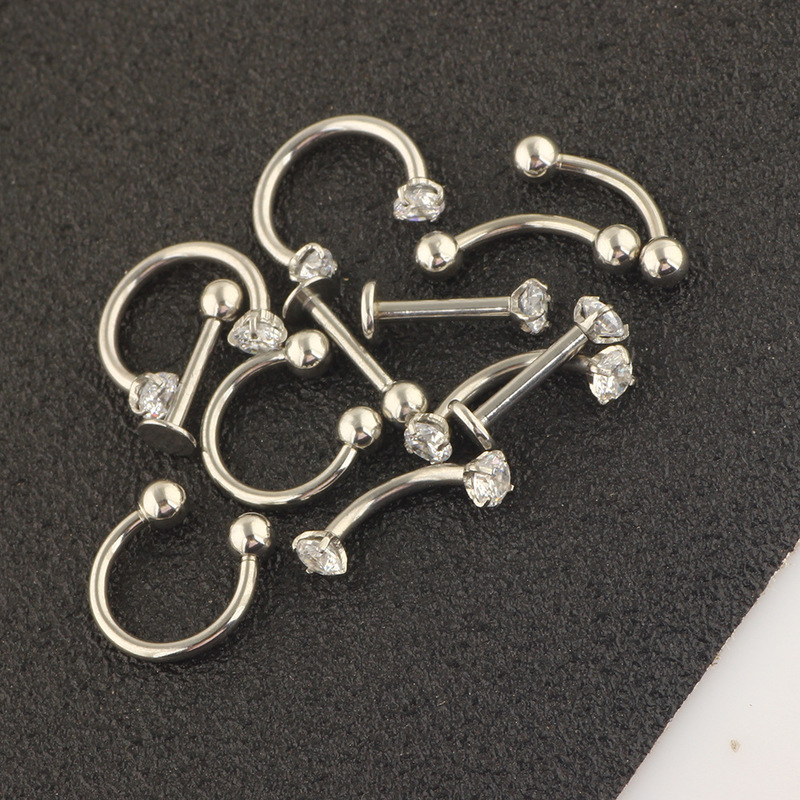 Serre Stainless Steel Earrings Collection (12 Pieces/Set)