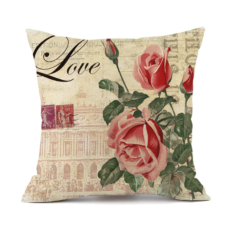 Forever Flowers Pillow Case Collection