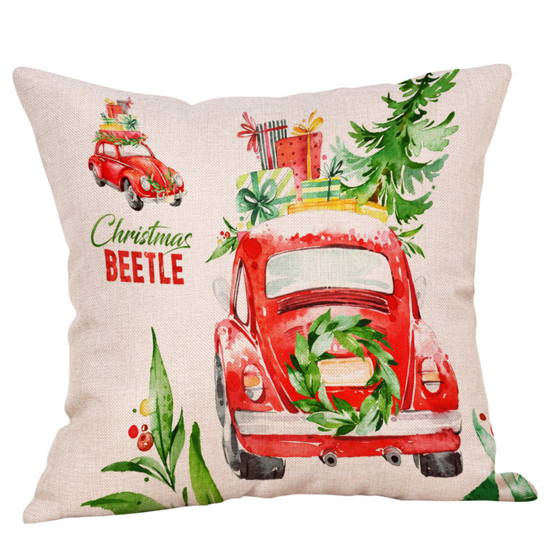 Red Christmas Pillow Case Collection