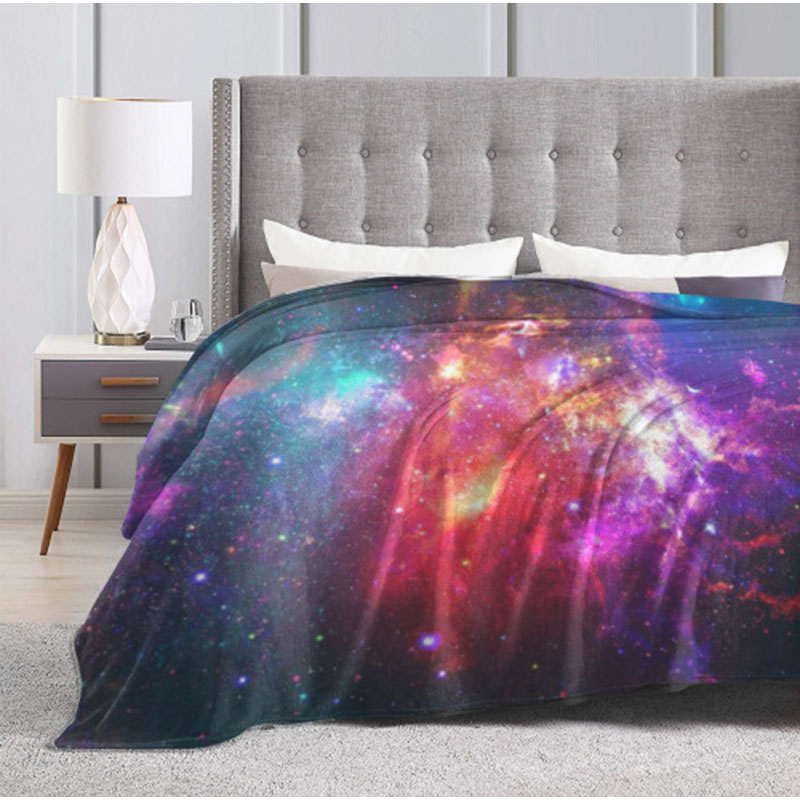 Out-of-this-World Space-Themed Blankets for Space Lovers