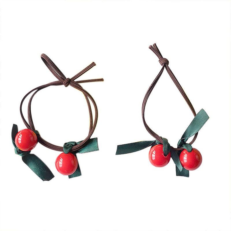 Lessia Cherry Hair Ties
