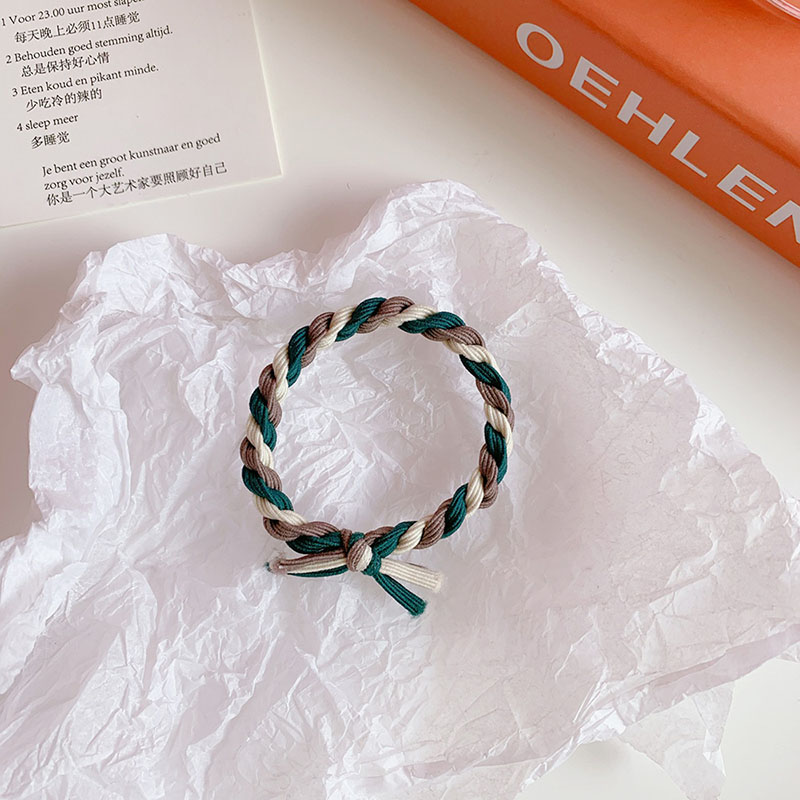 Twisted Rope Ribbon Hair Tie