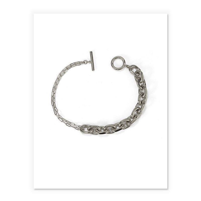 Through Thick and Thin Chain Necklace