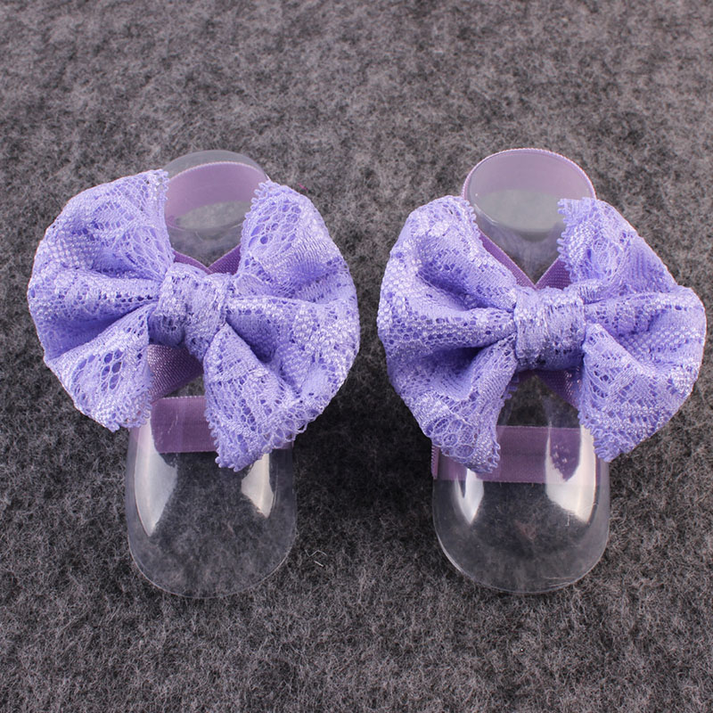 Thick Lace Infant's Foot Accessories