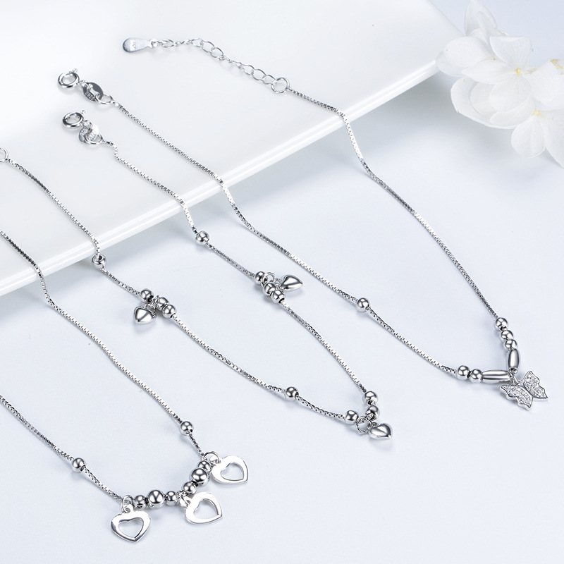 Akarima Silver Charm Anklet Collection