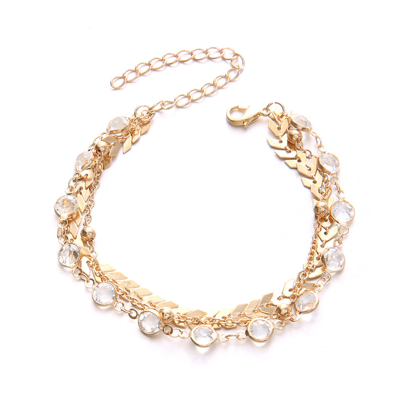 Colonia Golden Anklet Set (3 Pieces/Set)