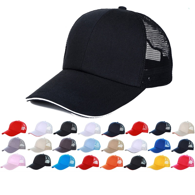 Color Pop Edge Baseball Caps