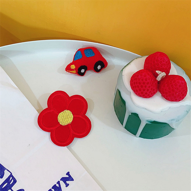 Tina's Pop of Color Flower Pins