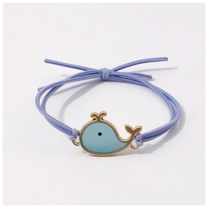 Whimsical Whale Hair Tie