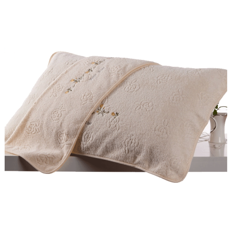 Beautiful Towel Cotton Pillow Cushion for Bedrooms