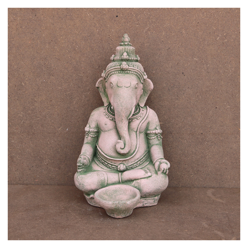 Ganesha the Sitting Elephant Statue