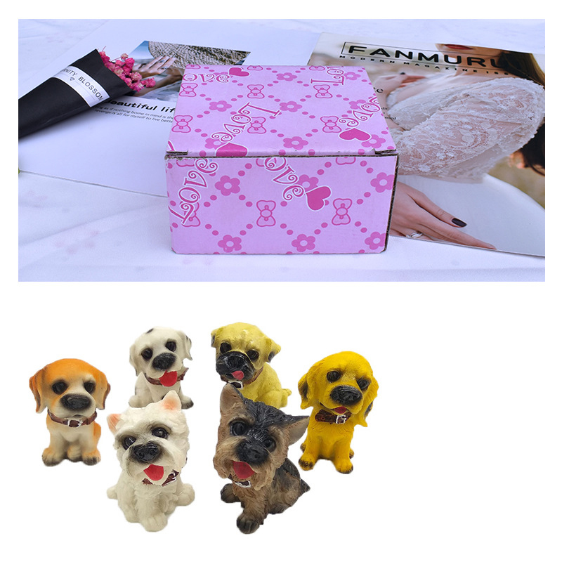 Cute Puppies Tabletop for Birthday Gifts
