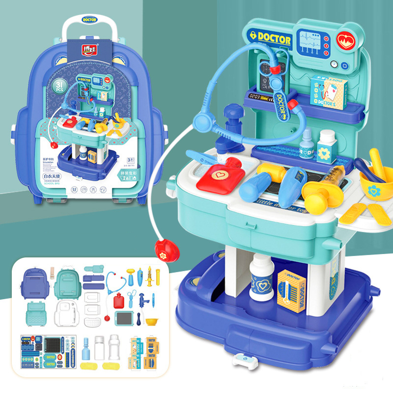 Job Simulation Toy Set for Little Boys and Girls