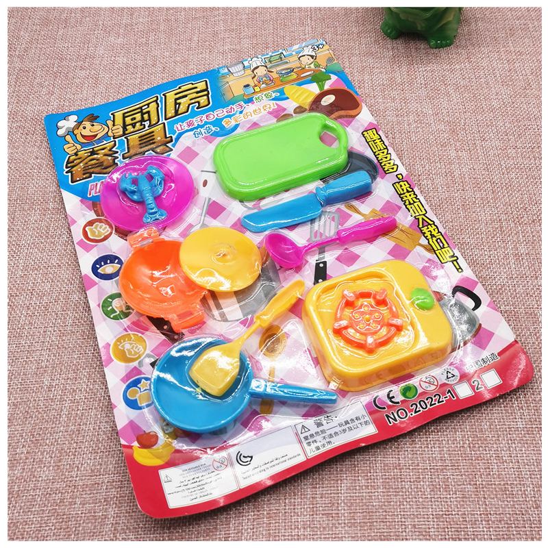 Colorful Cooking Toy Set for Little Girls