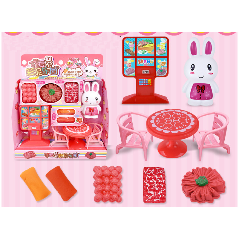 Fun Plastic Food Store Toys Set for Little Girls