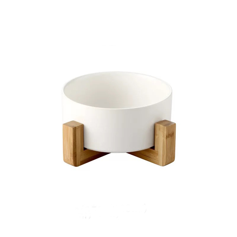 Mayanne Modern Bowl and Wooden Stand