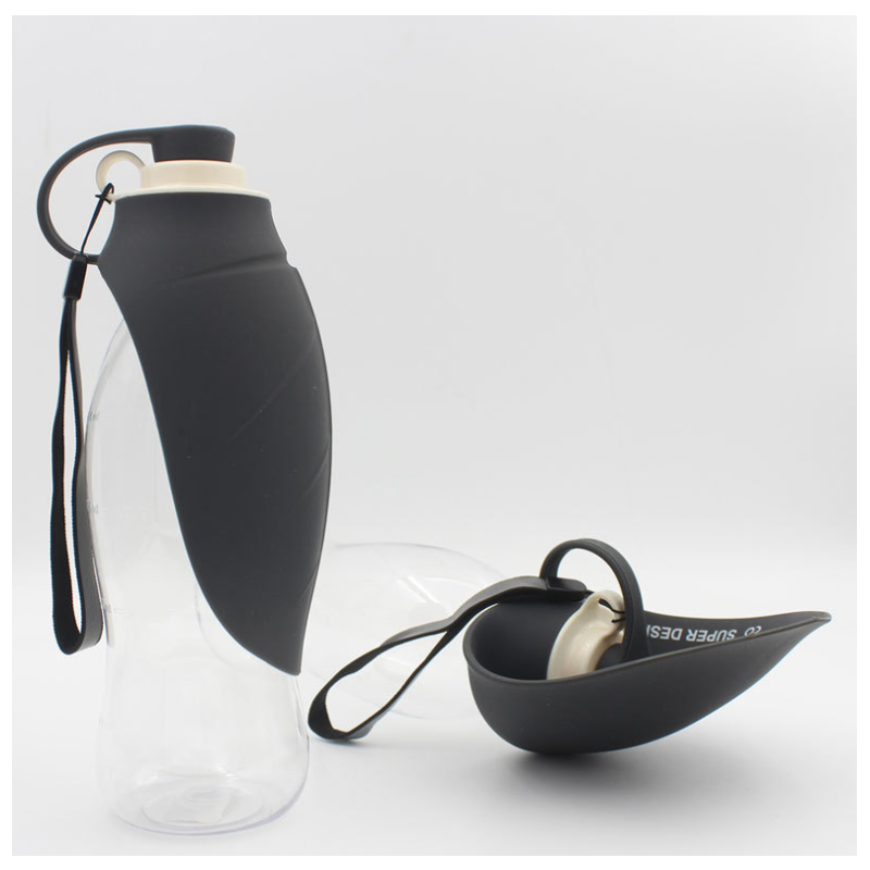 Water Bottle with Cup for Pets