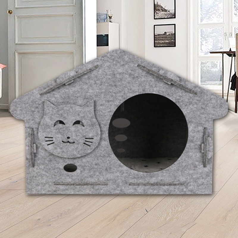 Polyester Fiber and Cotton Pet House