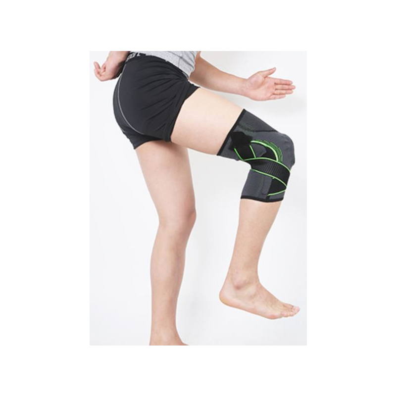 Supportive Knee Pads with Spring Strip for Maximum Relief from Joint Pain