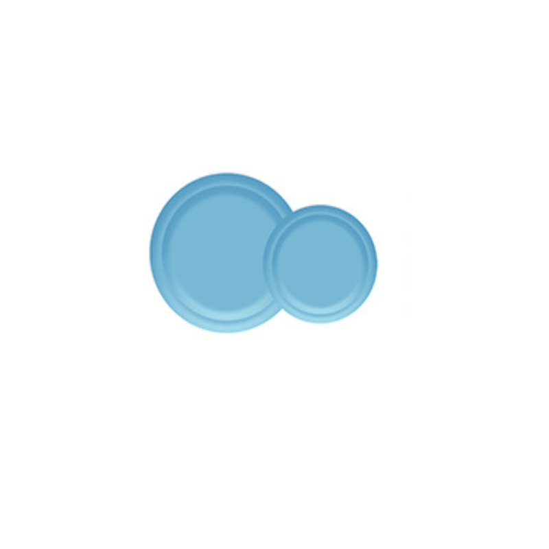 Disposable Blue Tableware for Parties