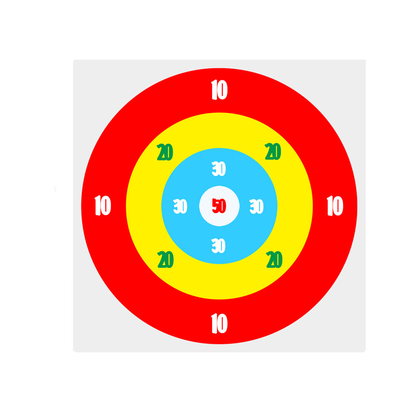 Sporty Sandbag Throwing Target Plate for Outdoor Fun Sports