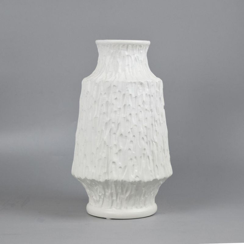 Textured Ceramic Vase Collection for Office Decor