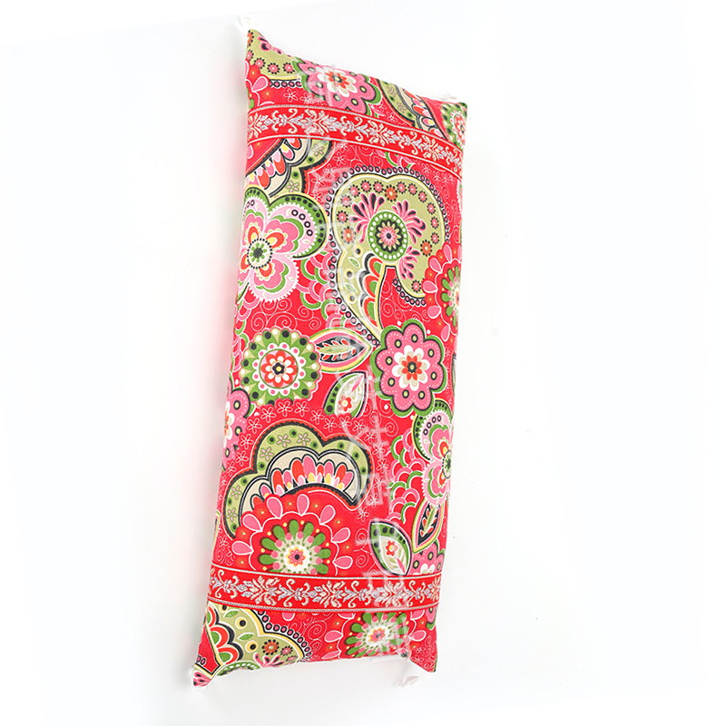 Joyous Floral Prints Bolster for Family Use
