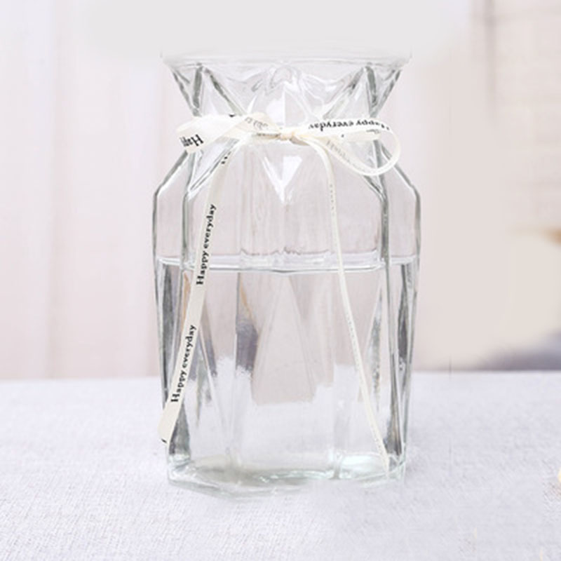 Classy Glass High-Choke Vase for Vintage Theme Rooms