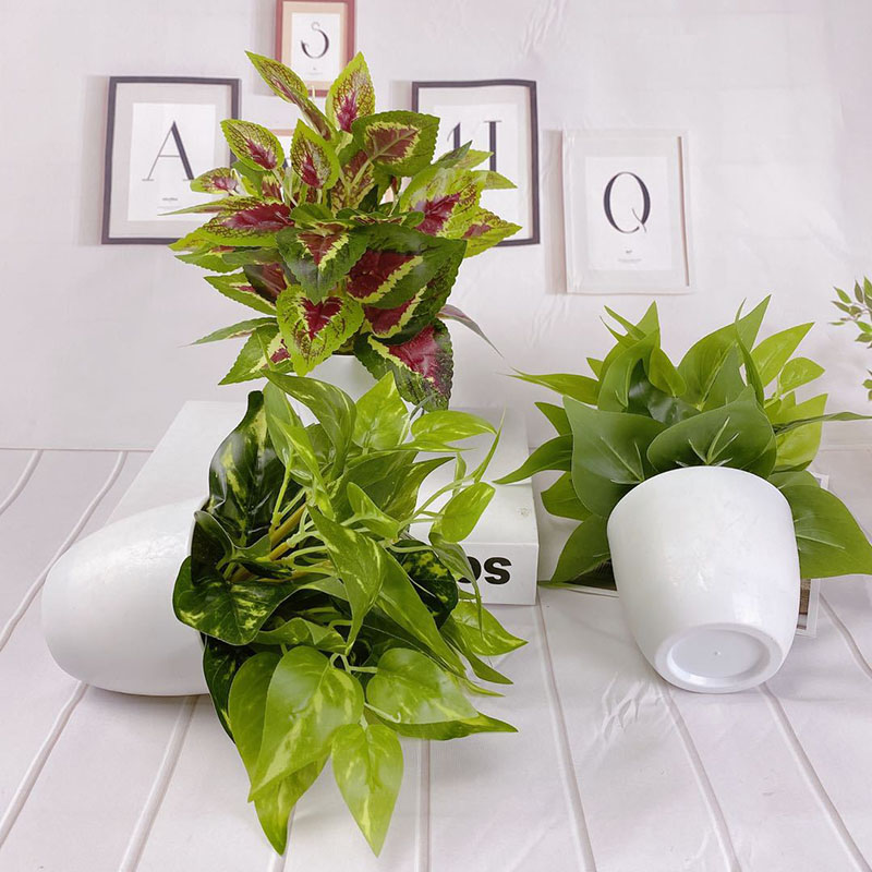 Artificial Potted Plant for Indoor Decor