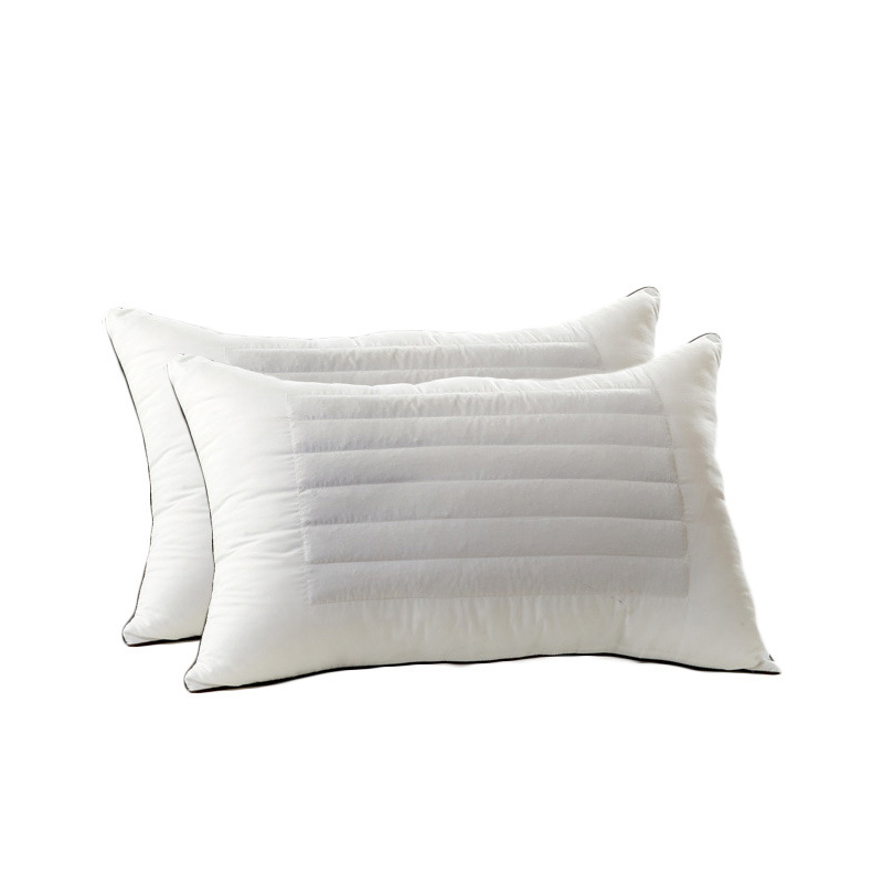 Cuddly Cotton and Buckwheat Pillow for Firm Shoulder Support