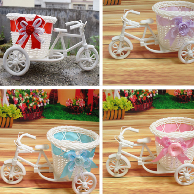 Little Tricycle with Basket Decor for Wedding Receptions