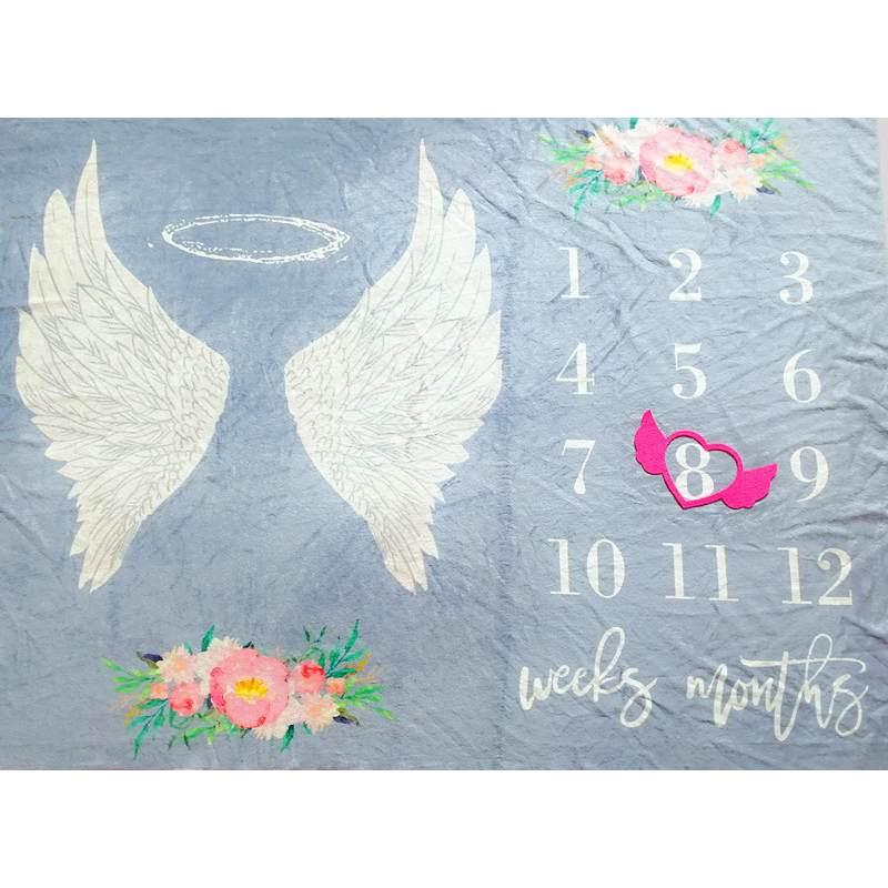 Angelic Baby Blanket for Baby Photoshoots