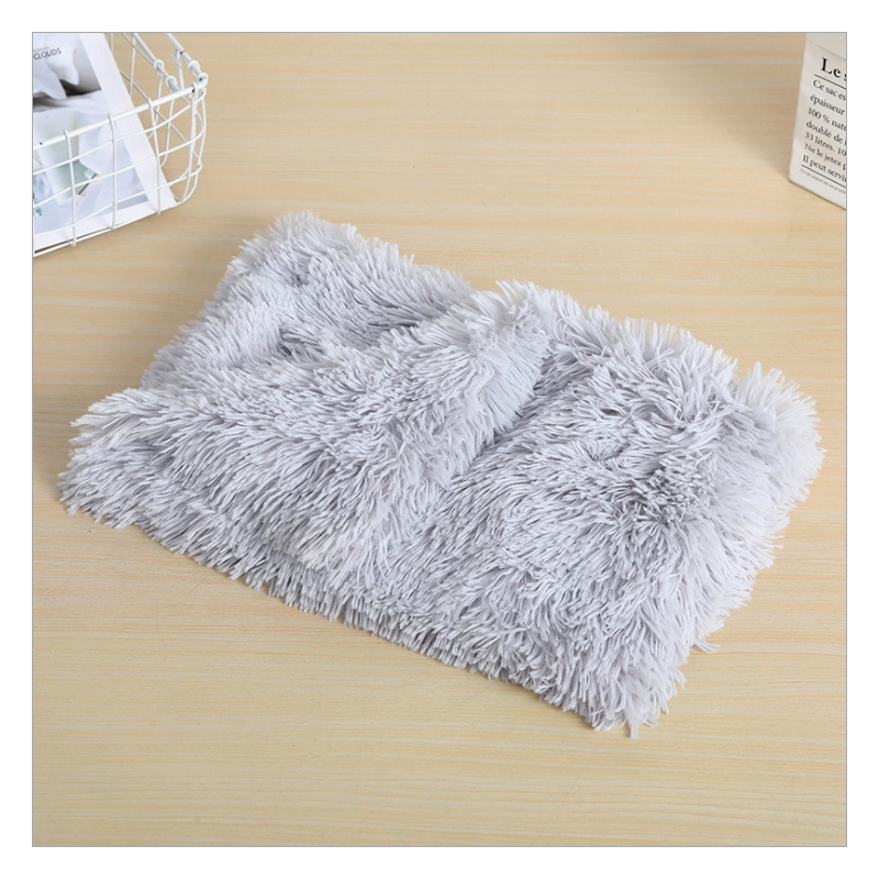Shaggy Polyester Mat for Your Pet's Sleep