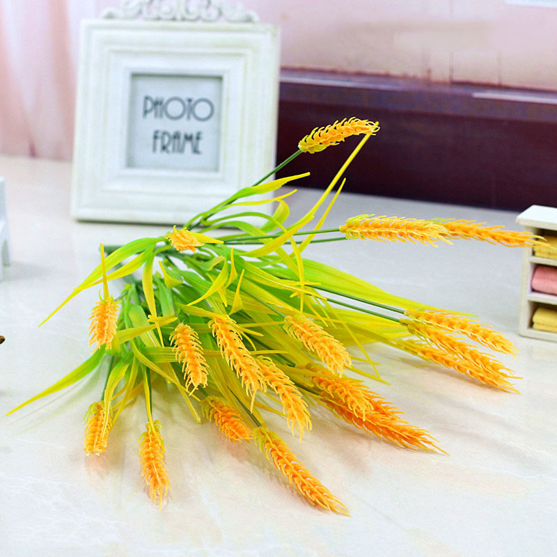 Artificial Wheat Plant Decor for Hotel Rooms
