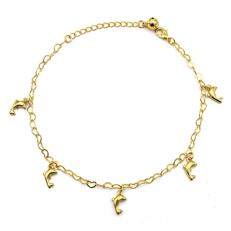 Mini Dolphins Anklet for Dedicated Divers