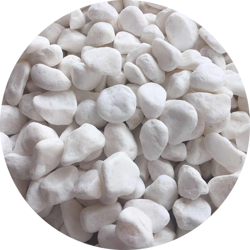 Precious Pasty White Stones for Pavements