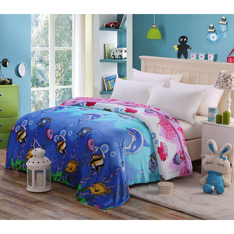 Precious Patterns Polyester Blanket Collection