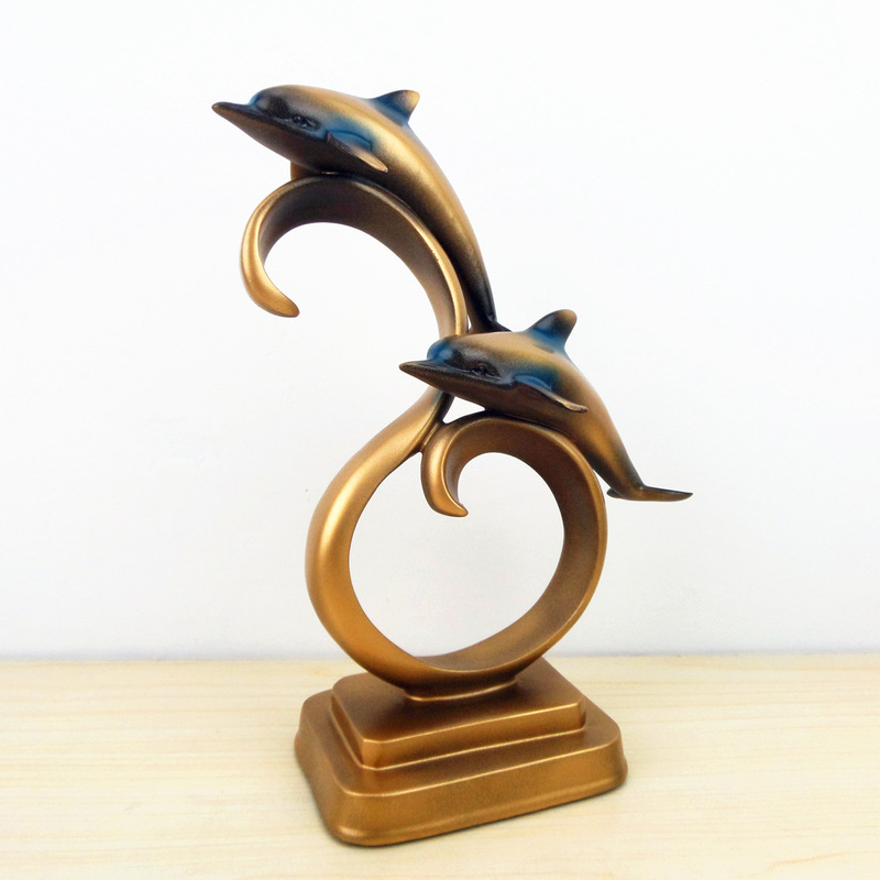 Creative Dolphins Tabletop for Home Decor