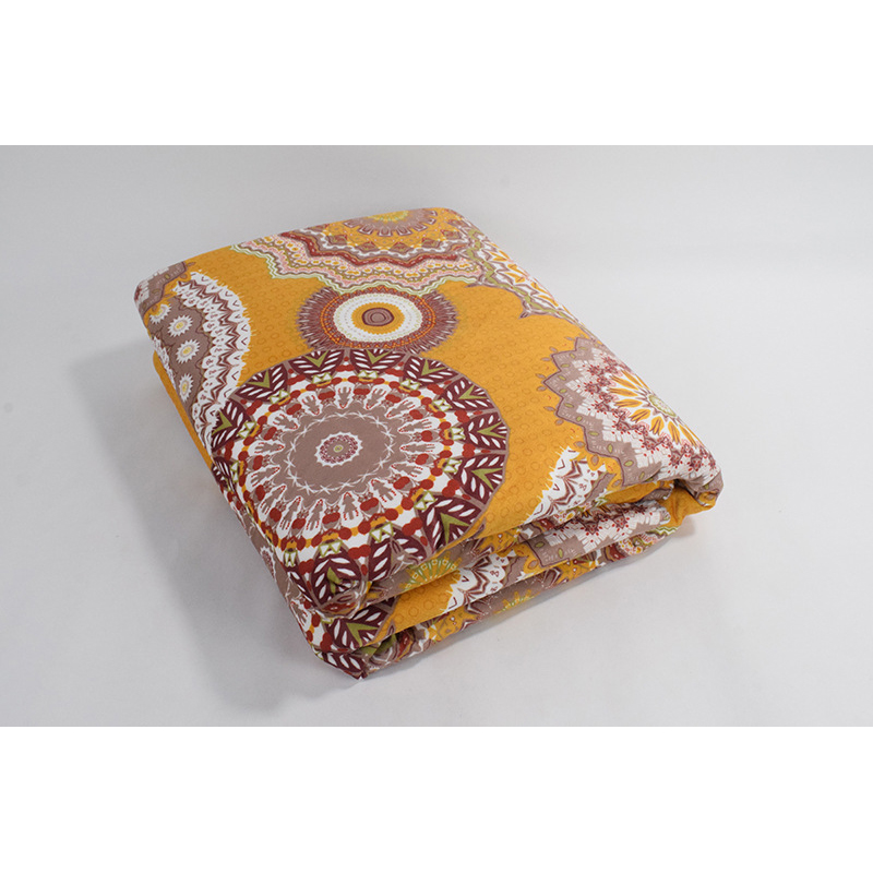 Printed Polyester Chemical Fiber Blankets for Decorative Purposes