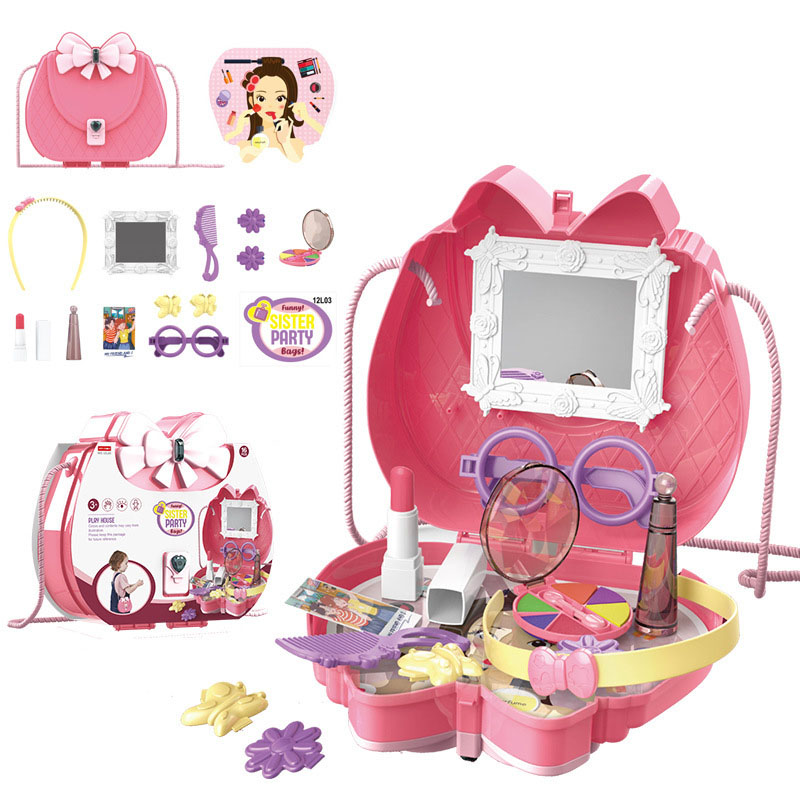 Girly Job Simulation Toy Set for Little Girls