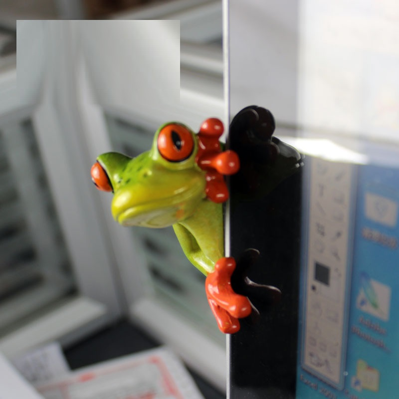 Bright Frog Decor for Simple Gifts