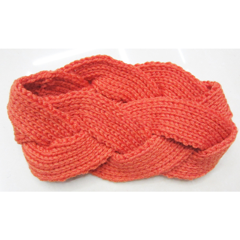 Handwoven Large Braided Headband for Winter