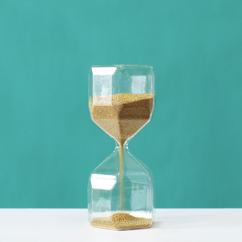 Fine Sand Minimalist Hourglass for Timer
