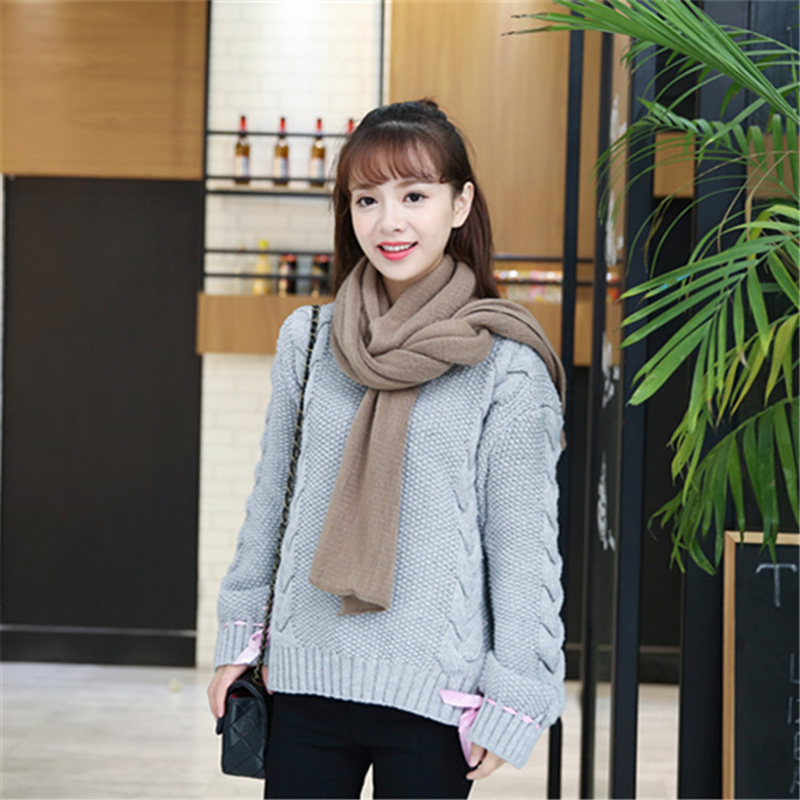 Large Faux Cashmere Warming Scarf for the Winter Season