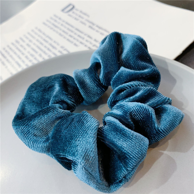 Soft Cloth Scrunchies for Wrist and Hair Wear