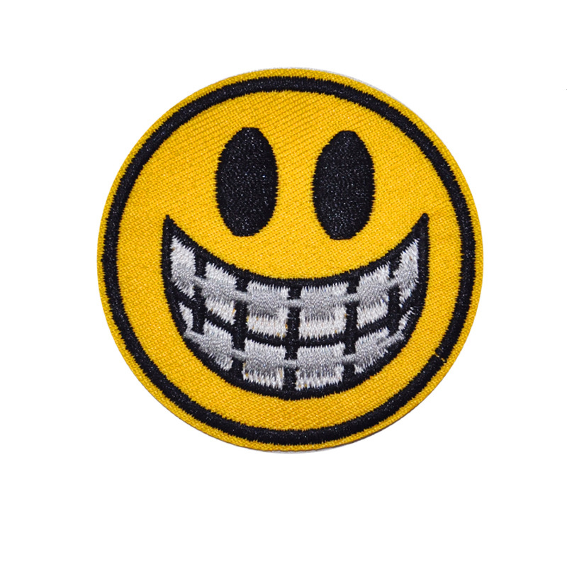 Unique Face Emoji Patches for Levelling Up Your Style